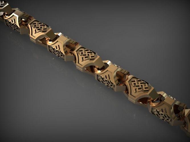 chain link 77 3d model stl 1