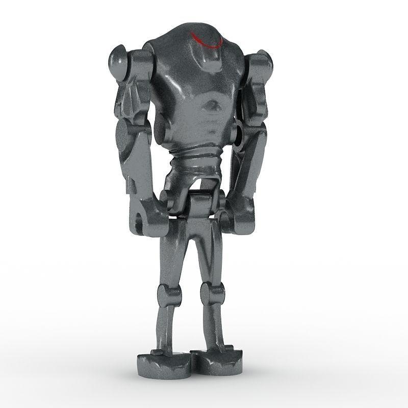 3D LEGO Minfigure Battle Droid B3  CGTrader