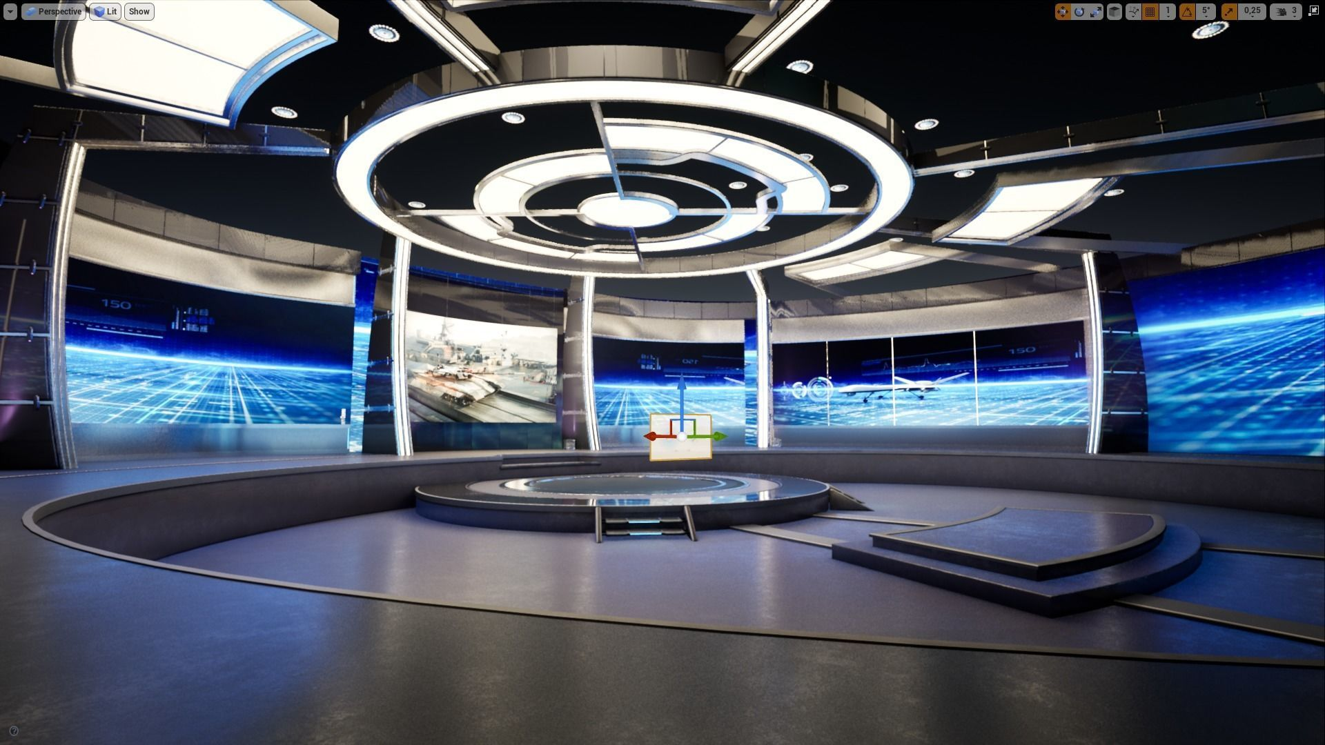 Virtual Broadcast Studio