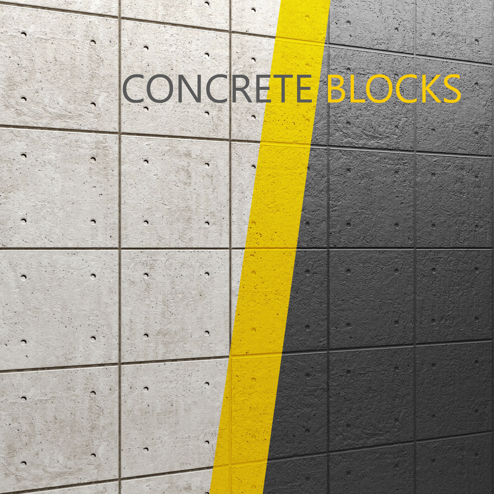 3D model concrete panel   CGTrader