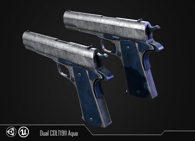 COLT 1911 Aqua
