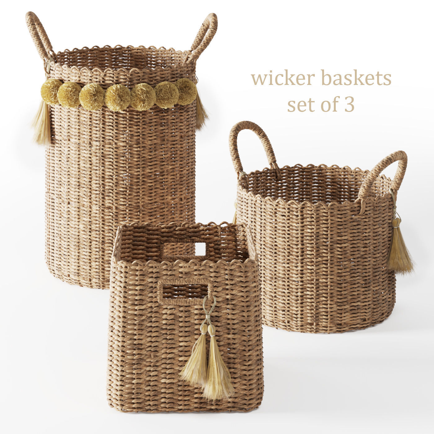Serena and Lily Big Sur Baskets
