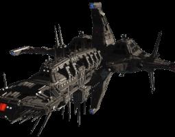3d model cdf nemesis heavy cruiser