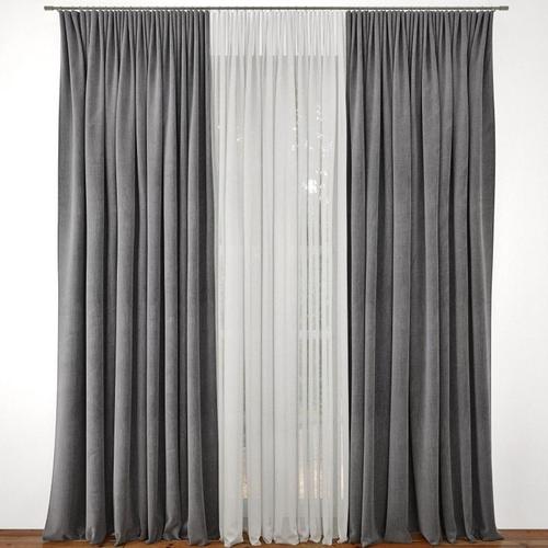 3d Rail Curtain Cgtrader