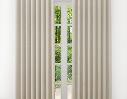 drapes Curtain 3D