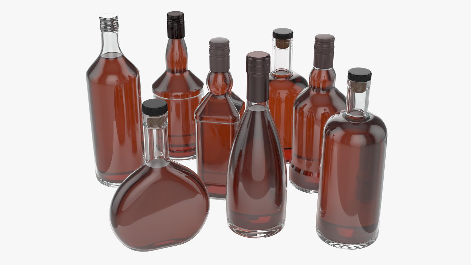 whiskey glass bottles vol1