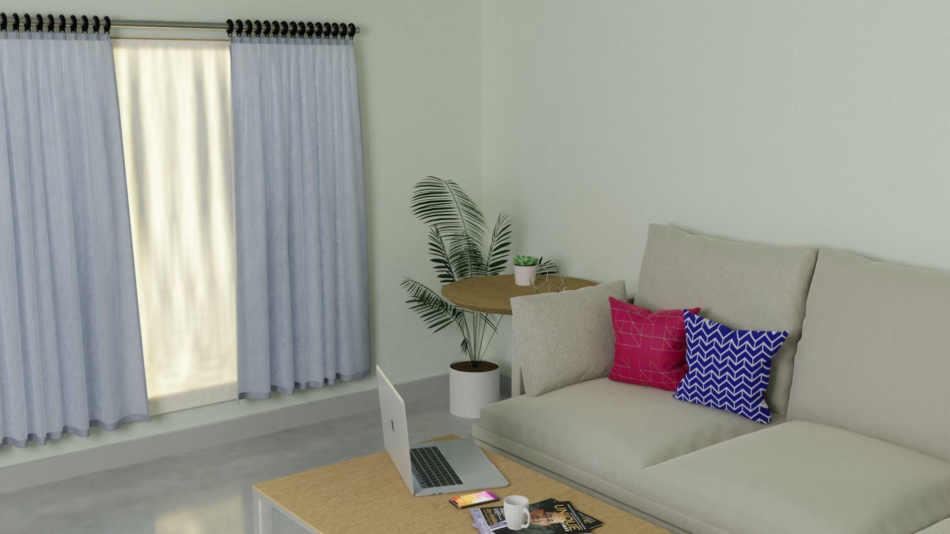 A modern room