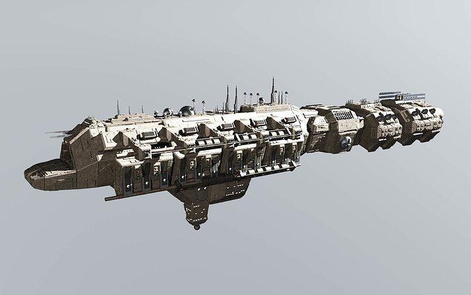 cdf carrier 3d model max obj mtl 3ds vue pz3 pp2 tga 1