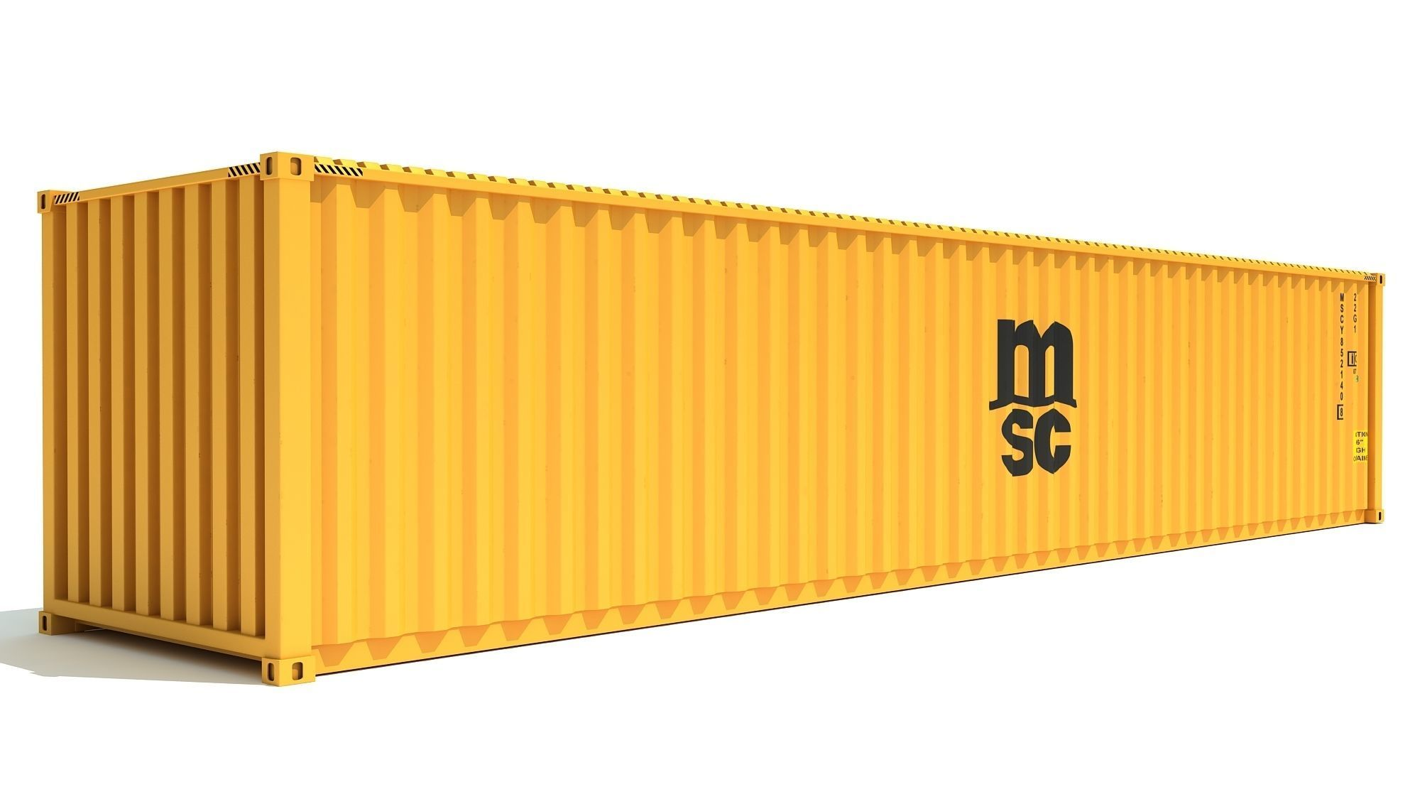 Shipping Container MSC