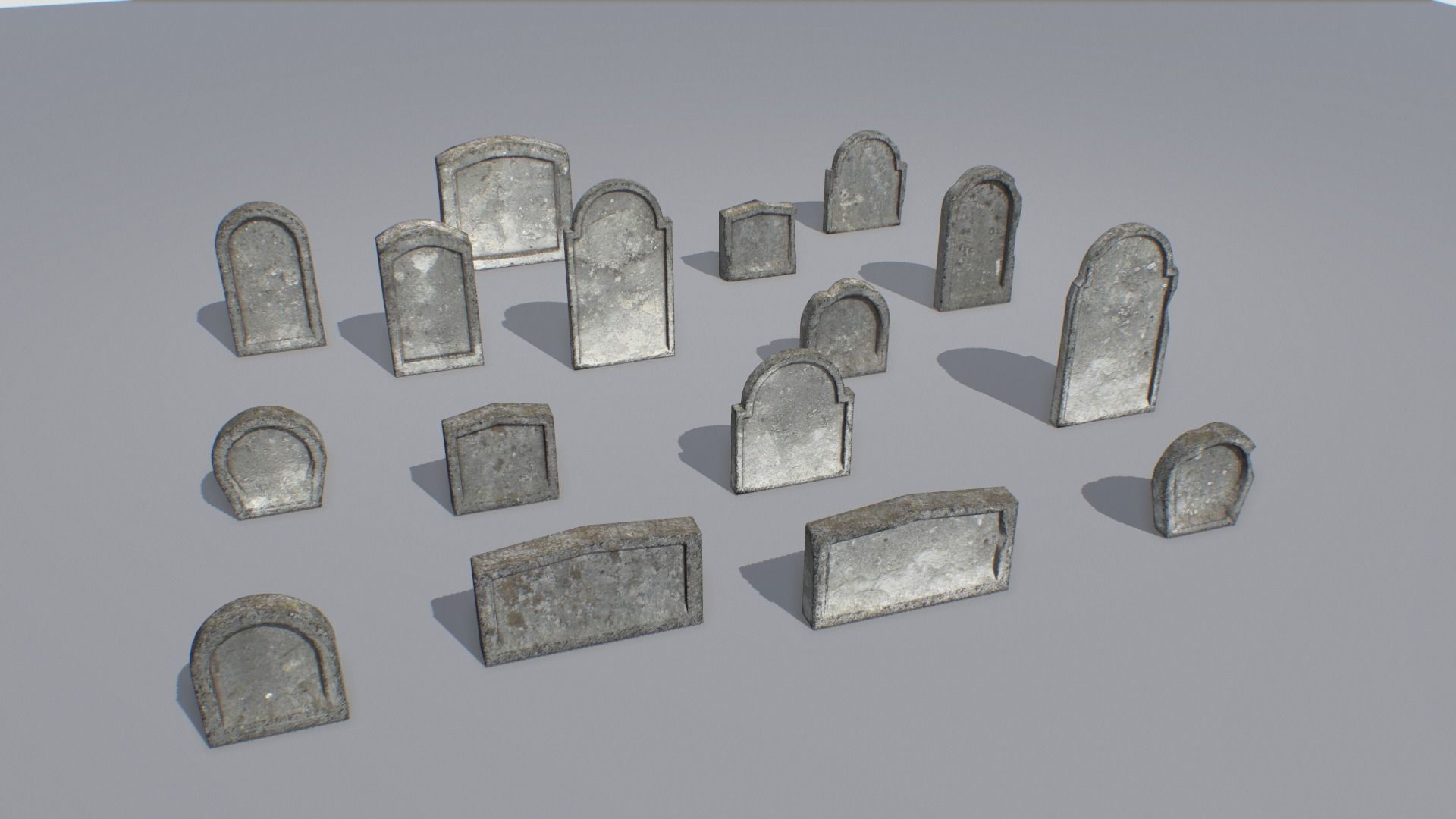 Gravestones pack 5