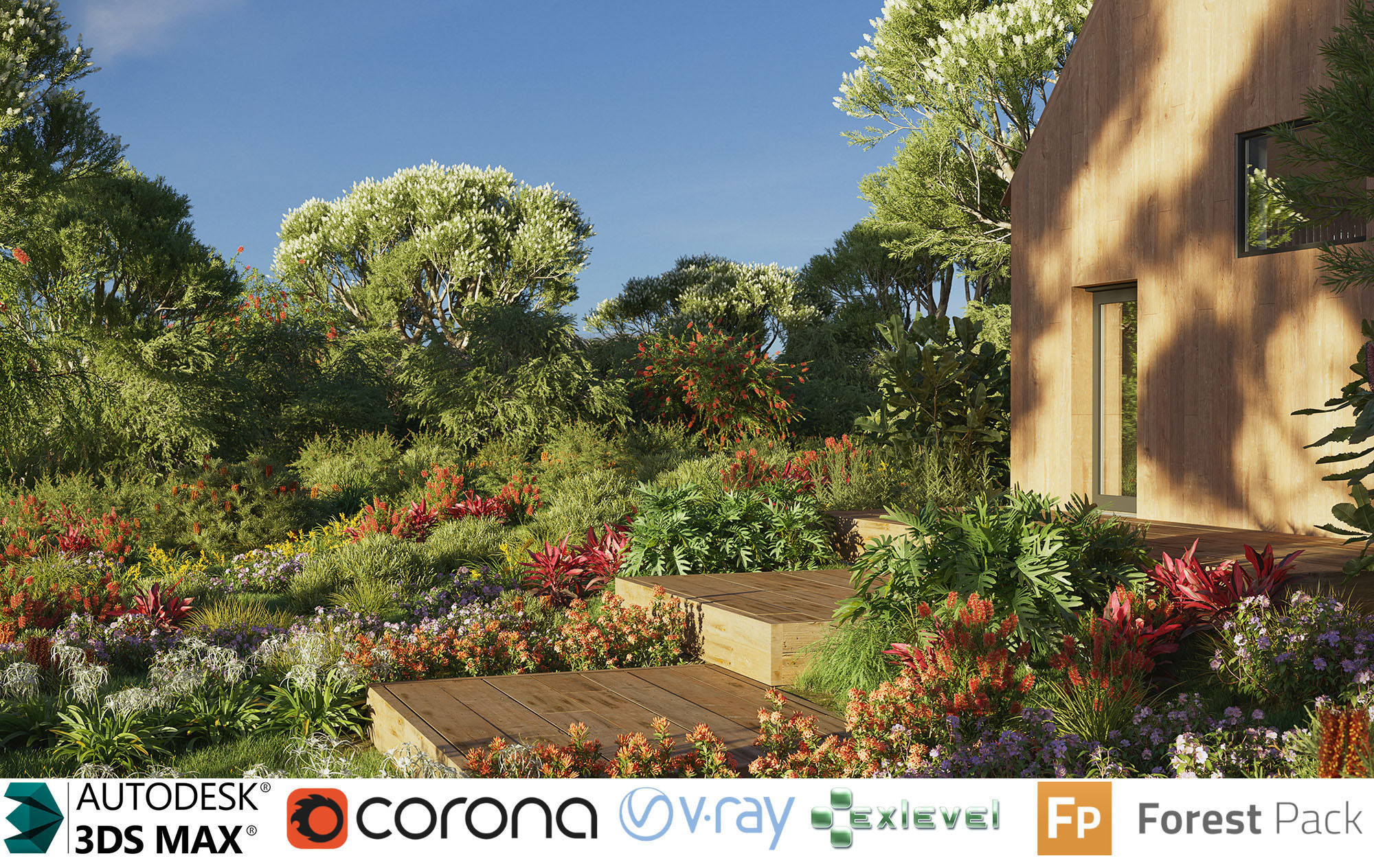 Australian Plant Collection - Include GrowFX and Mesh file