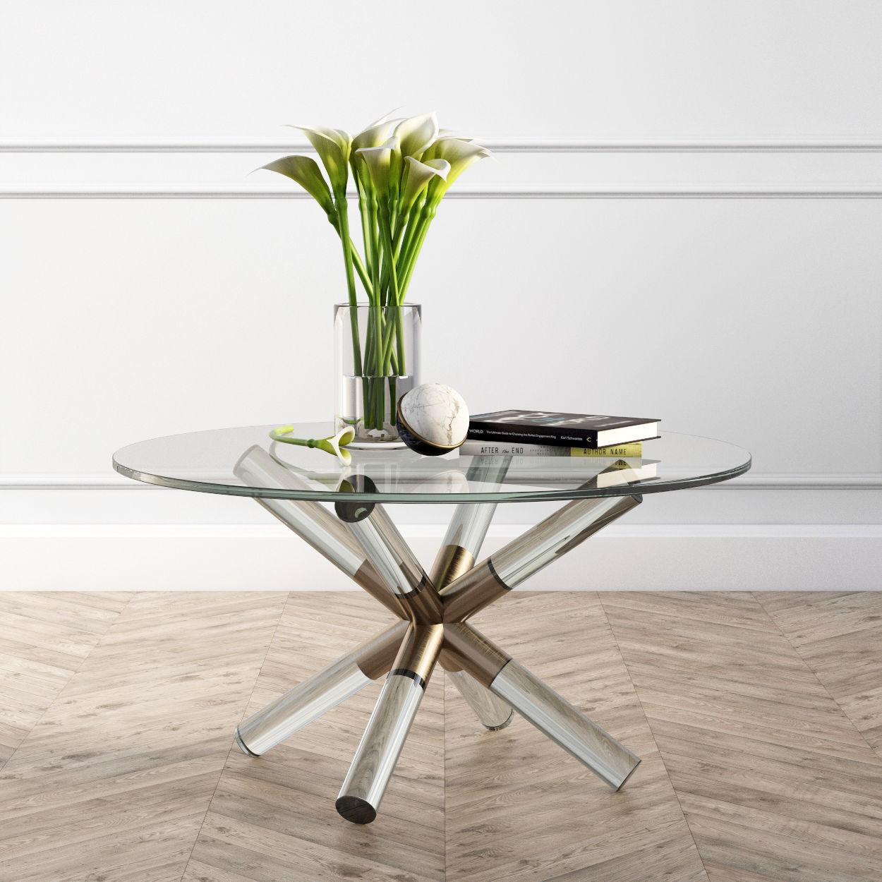 Coffee Table Pavlova West Elm  4D model