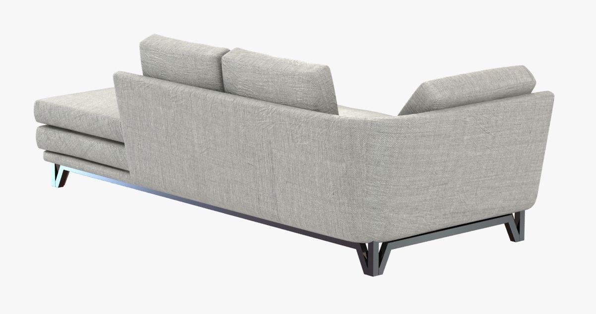 Roche Bobois littoral sofa 3D model | CGTrader