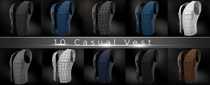 10 Casual Vest Styles