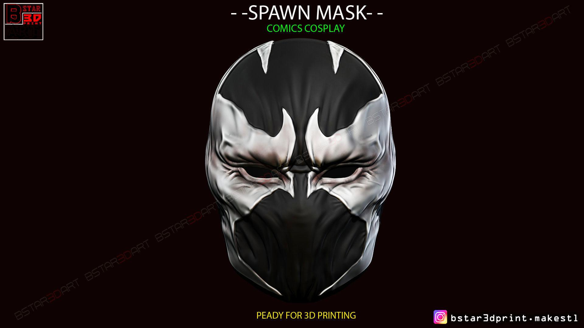 Spawn Comics Mask