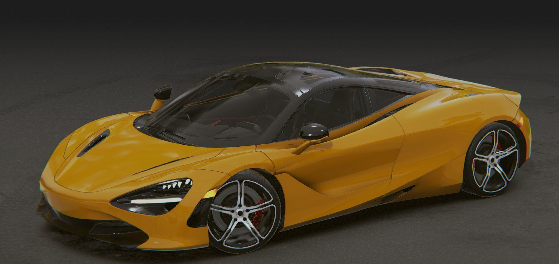 Realistic Mobile Car 15 McLaren 720S