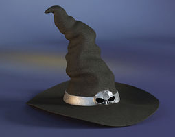 Witch Hat 3D model