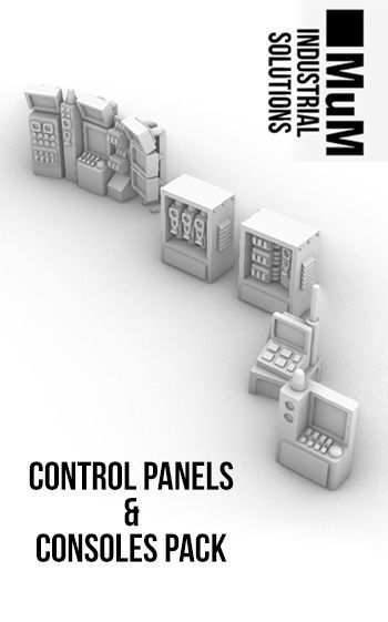 Control Panels and Consoles Pack