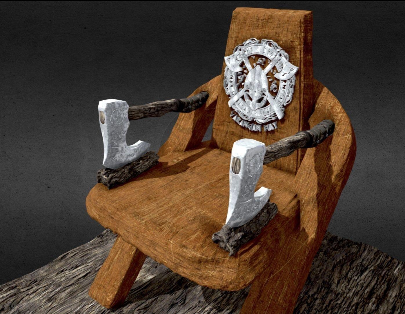 Axe Viking Chair