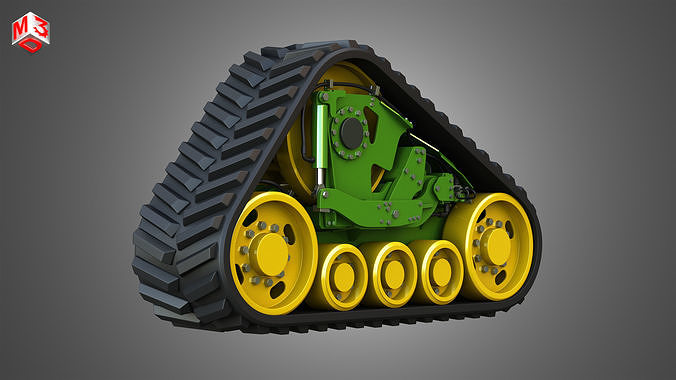 Rubber Track System - Combine Harvester - Crawler Tractor