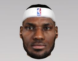Lebron James 3D model
