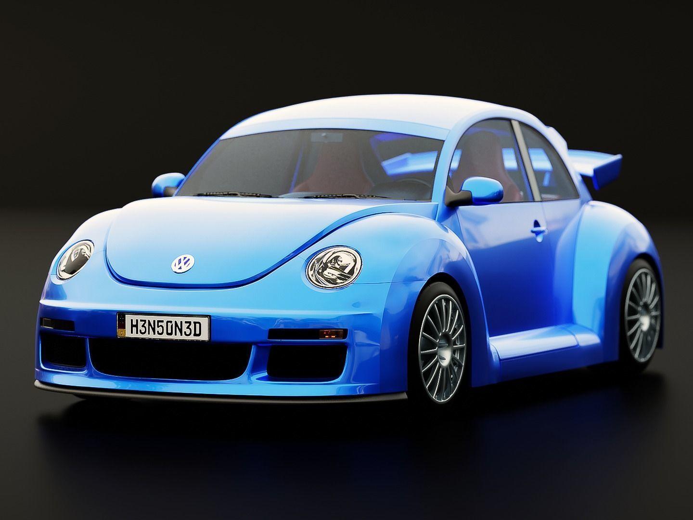 Volkswagen Beetle RSi 2003 Rigged
