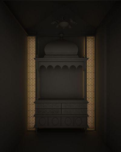 Indian Pooja Room 3d Model Max Obj Fbx Mtl