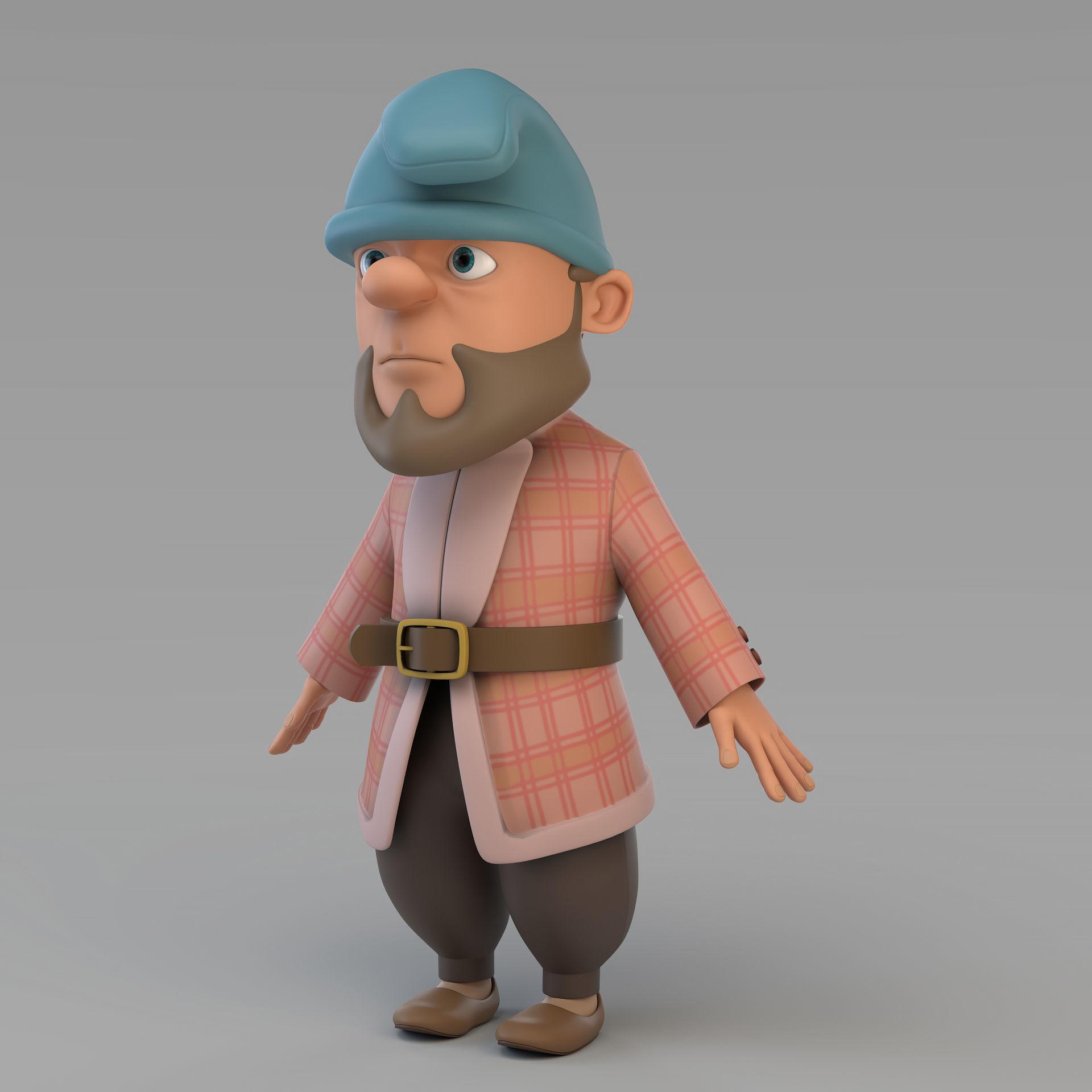 Cartoon Gnome 02