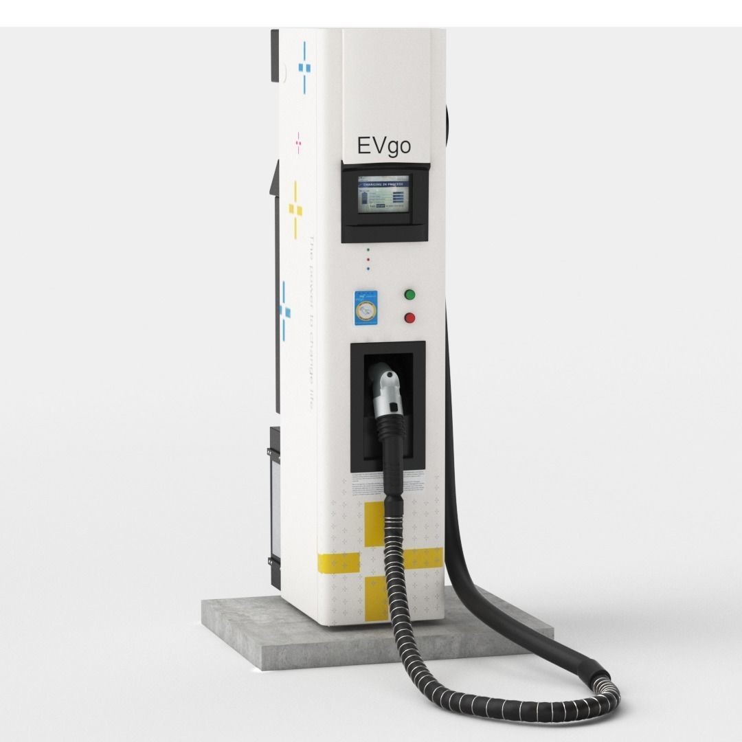Electric Vehicle Charging Station EV GO Pat 2