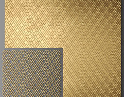 panels Panel lattice grille 3D model