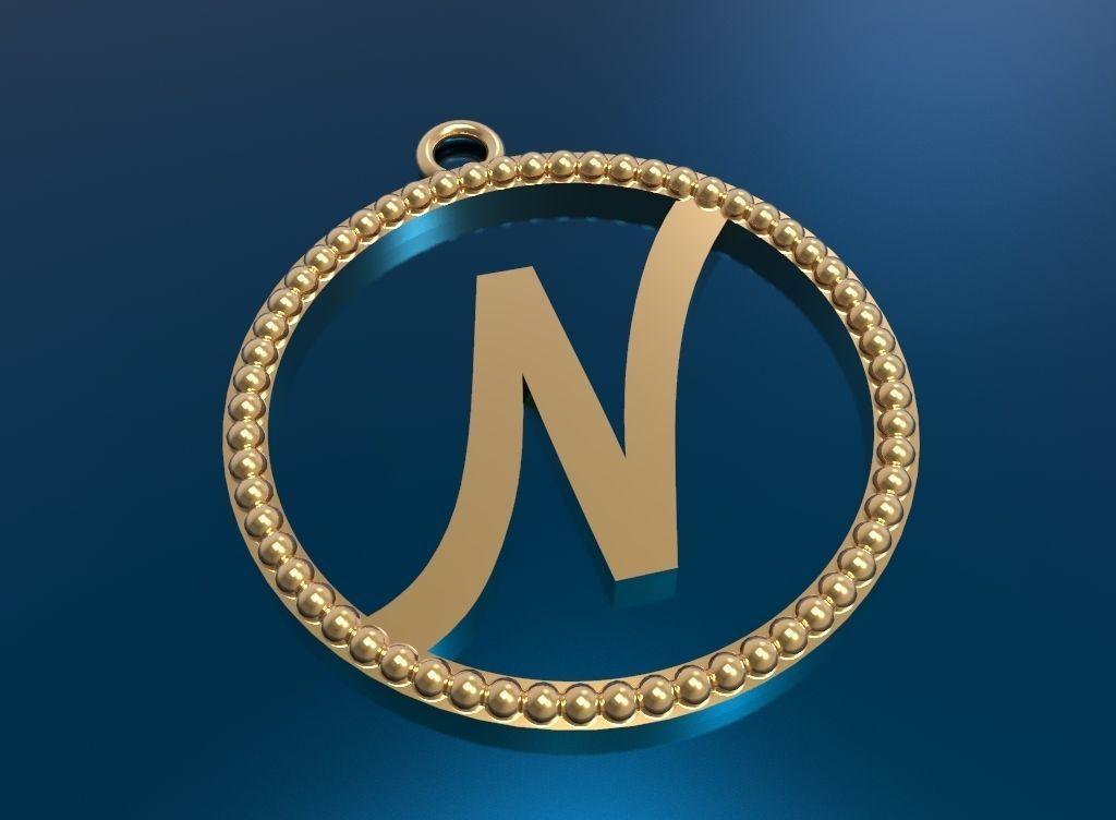 alphabit pendant