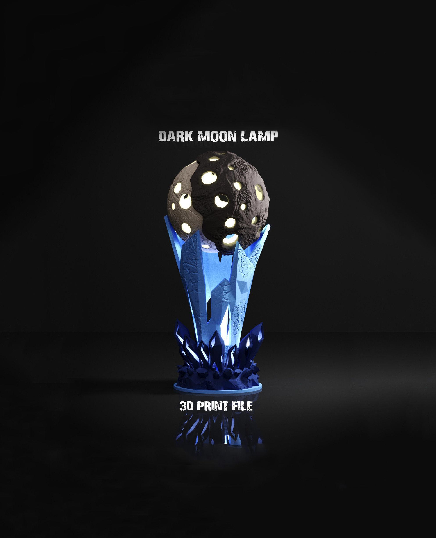Dark Moon Lamp