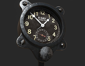 wwii WWII Aircraft Clock 3D model