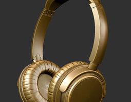 3D printable model headphones audio