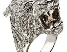 3d print model carrera lion ring