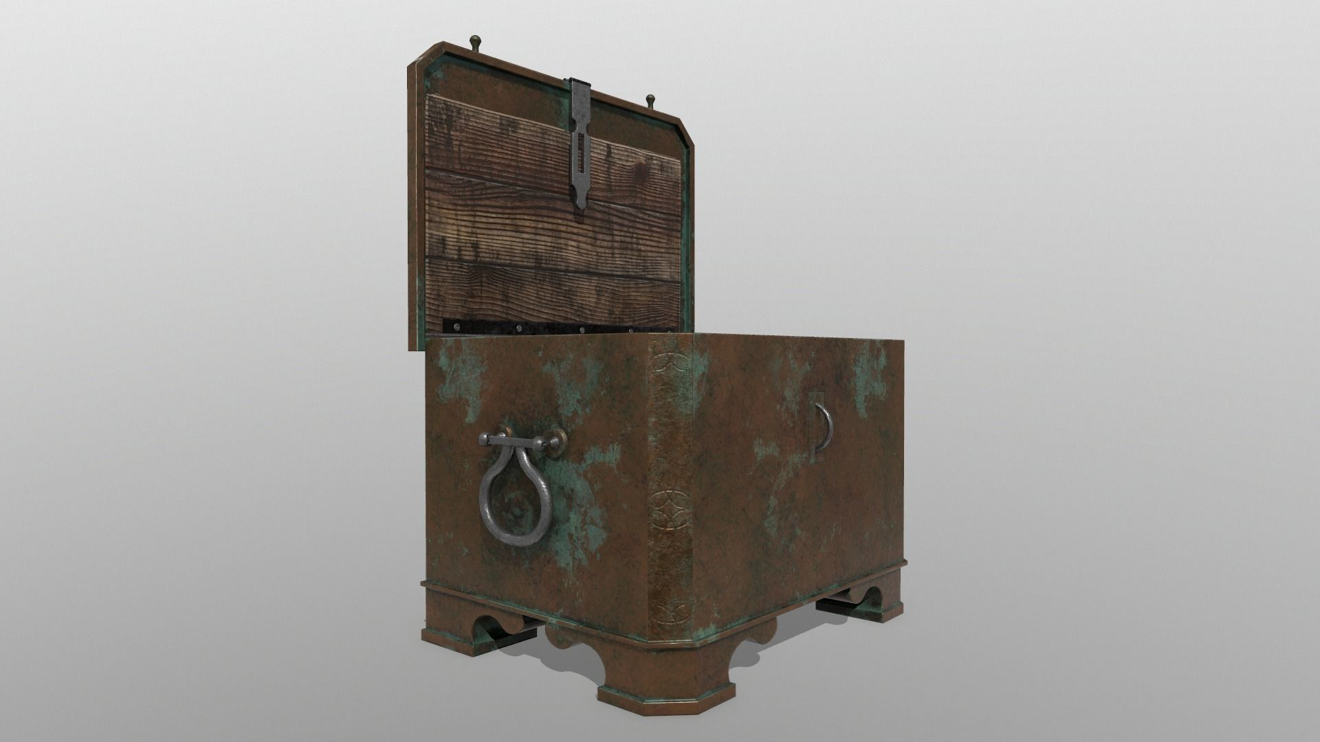 Antique chest safe PBR