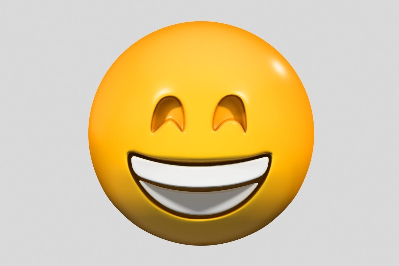 Emoji Grinning Face with Smiling Eyes