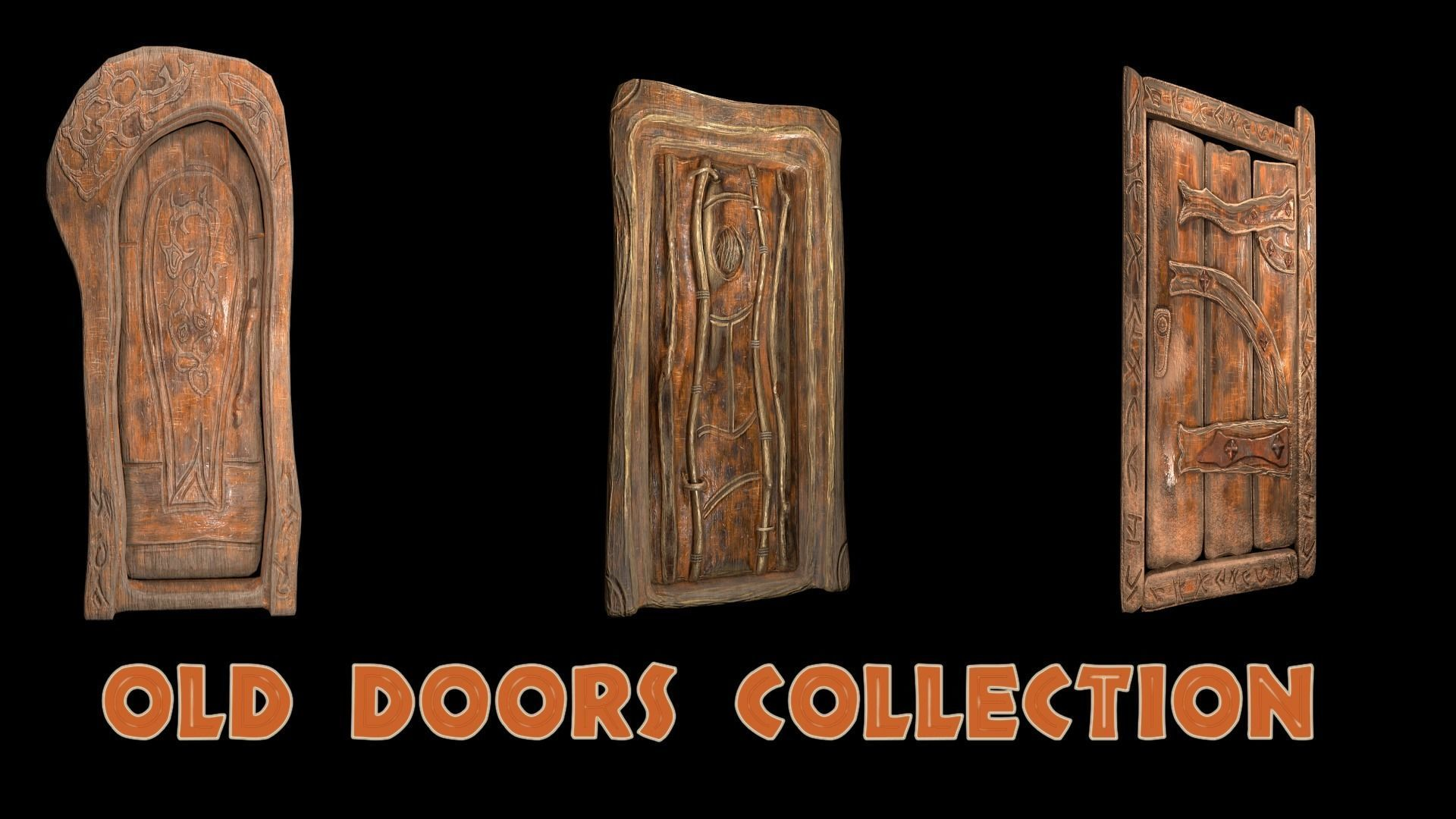 Old doors collection