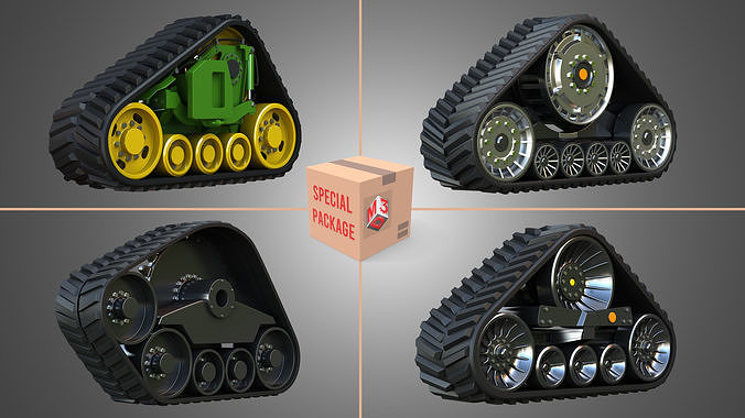 Rubber  Crawler Track Systems  - Package