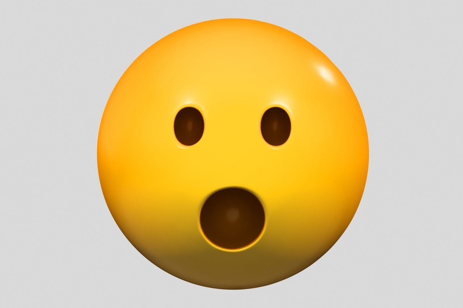 Emoji Face with Open Mouth