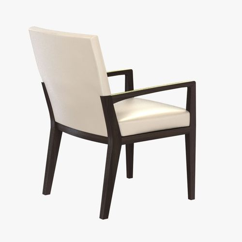 Awesome Holly Hunt Luna Dining Arm Chair Model Cgtrader