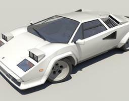Lamborghini Countach LP5000 3D model