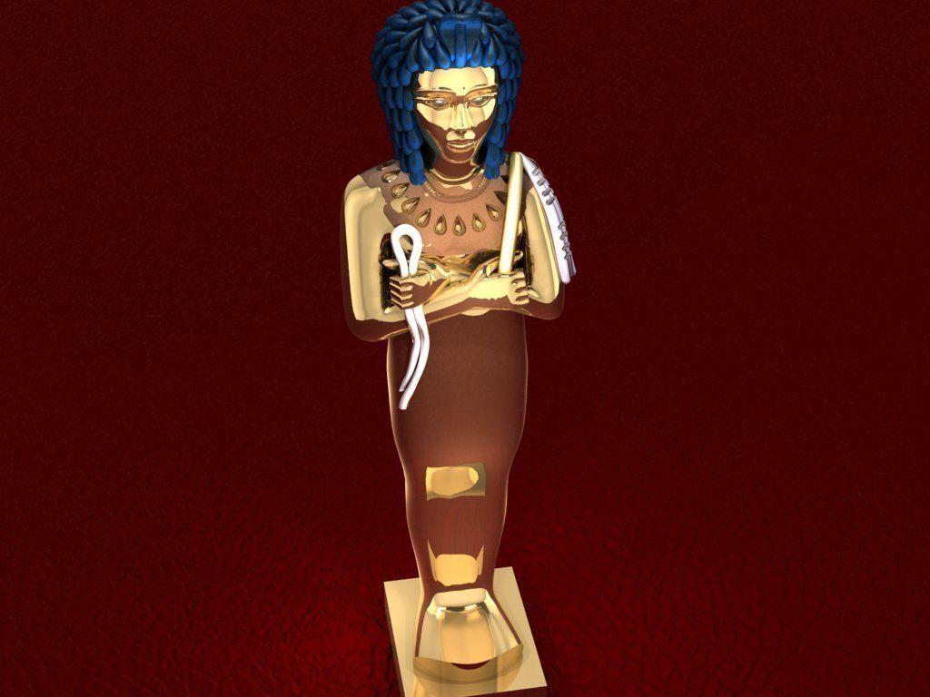 Ancient Egyptian Pharaoh 13