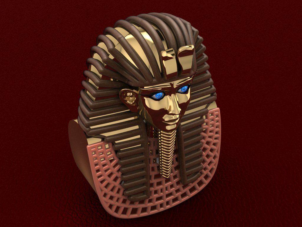 Ancient Egyptian Pharaoh  Tot Ankh Amoun