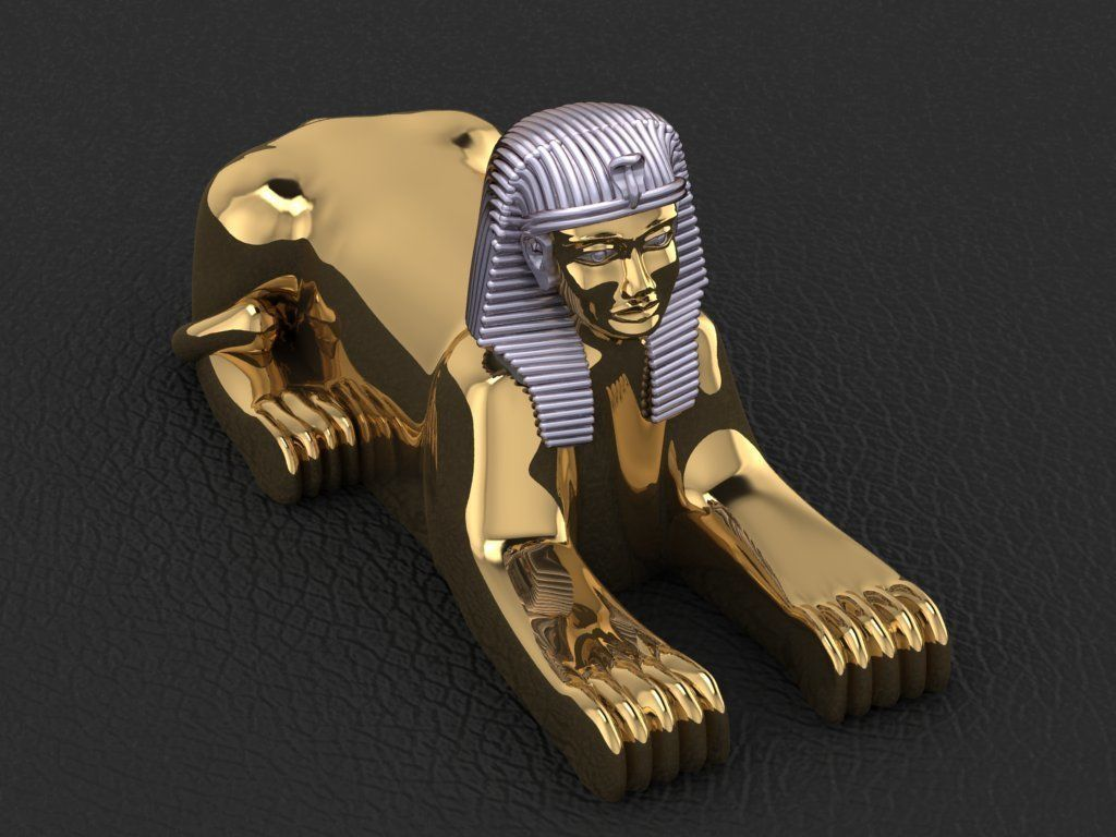 Ancient Egyptian Pharaoh Sphinx