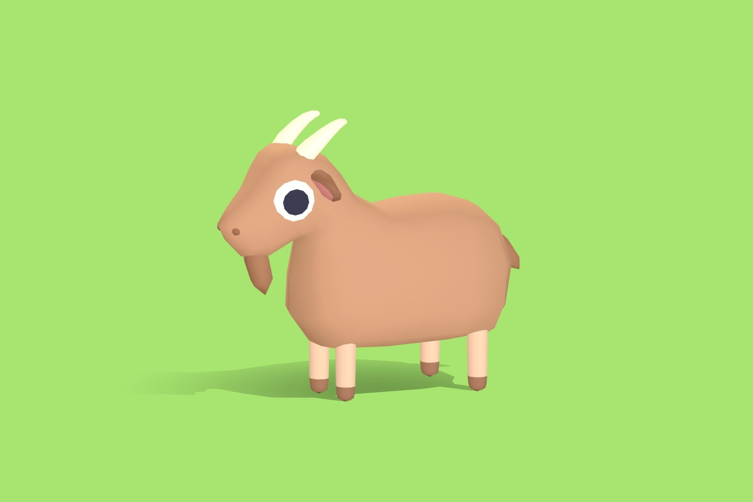 Gunter the Goat - Quirky Series