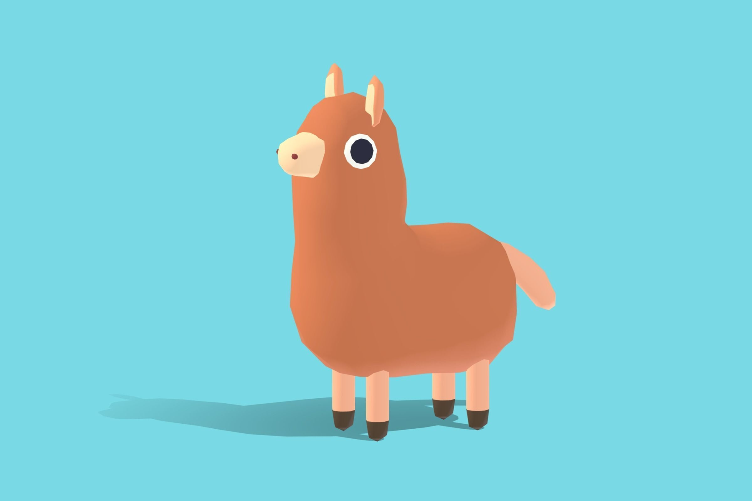 Ally the Alpaca - Quirky Series
