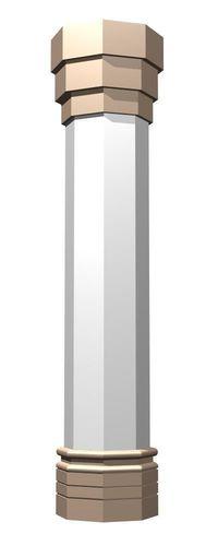 modern column 3d model max 1