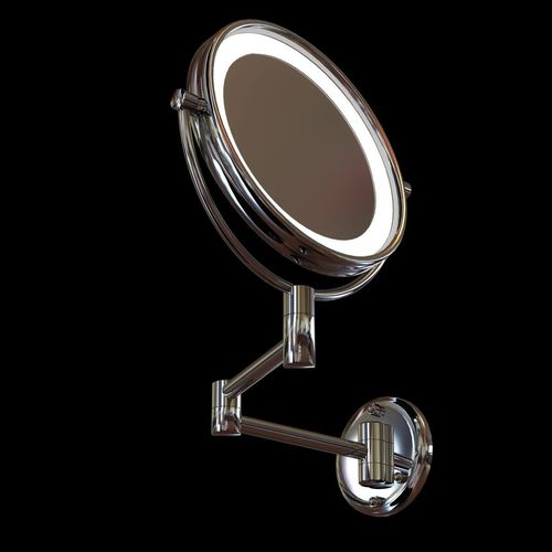 3d Jerdon Led Lighted Wall Mounted Mirror Cgtrader