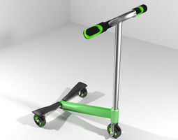 Scooter Type 3 3D Model